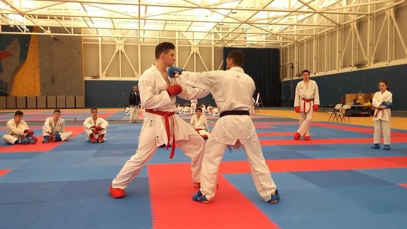 Douglas BROSE, 2X WKF World Champion, in Montreal 2017 06/17 - Arrow Karate Seminars