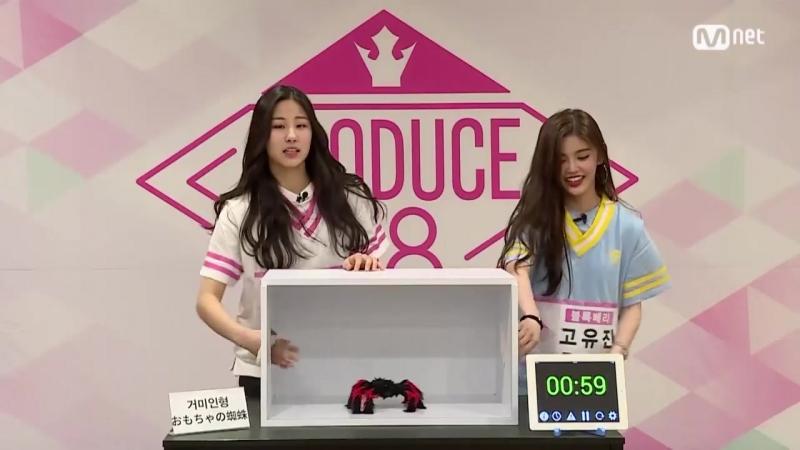 PRODUCE48 [48스페셜] 히든박스 미션ㅣ고유진(블록베리크리에이티브) vs 황소연(웰메이드예당) 180615 EP.0