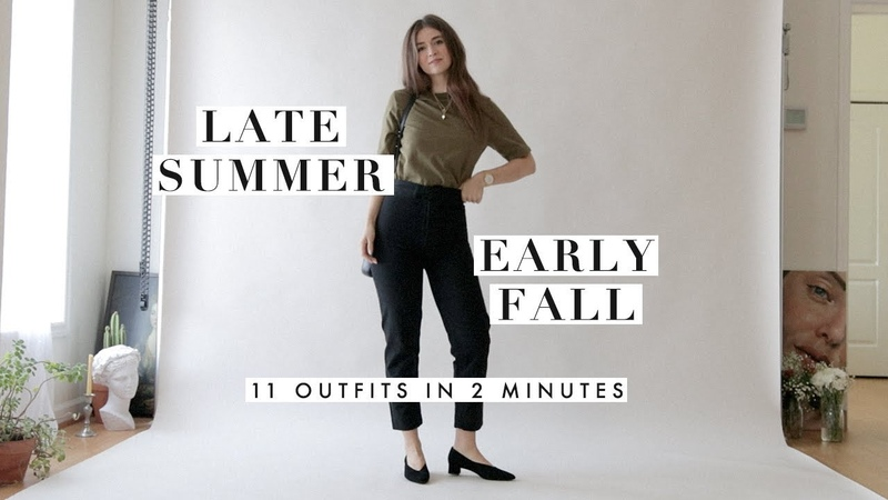 Outfit Ideas for Late Summer Early Fall | Outfits Inspiration Lookbook | Dearly Bethany