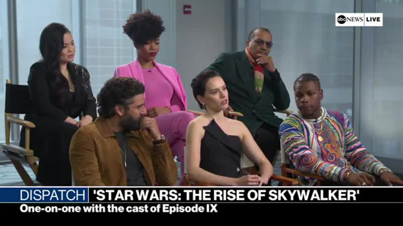 Daisy Ridley on whether the direction of Rey Kylo's
