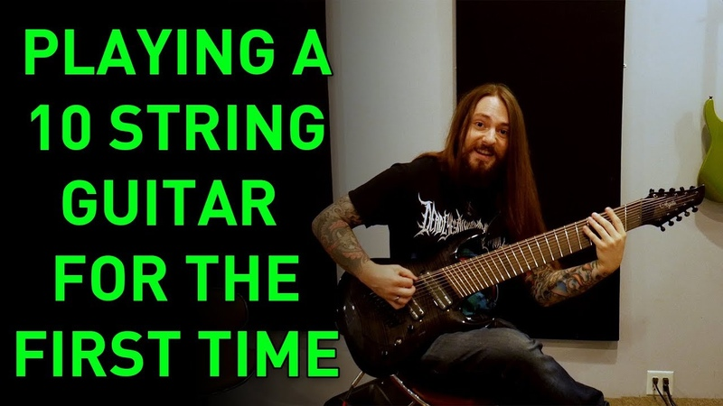 Guitarists Reacting To A 10 String Guitar (Playing A 10 String For The First Time)