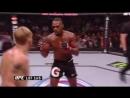 Гусь устраивает Боунсу его первый тейкдаун в UFC