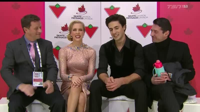 Kaitlyn WEAVER _⁄ Andrew POJE Rhythm Dance 2019 Canadian National Championships