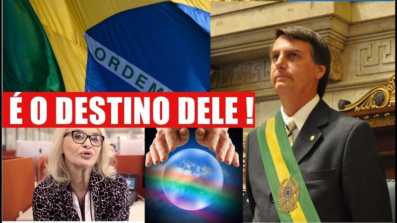 Astróloga diz que Bolsonaro será eleito presidente: É o destino dele