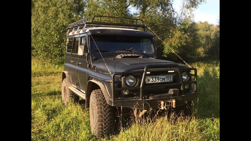 Тюнинг УАЗ Хантер/Off Road tuning UAZ Hunter
