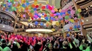 Balloon Drop Party on Princess Cruises Majestic Princess (4K)