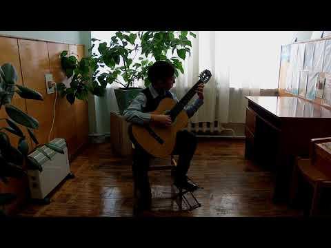 Драбів ДШМ клас гітари Береза Артем 4-клас