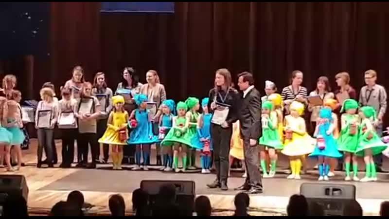 Награждение Сафронова Григория Конкурс творческих достижений Космический успех 2019 г