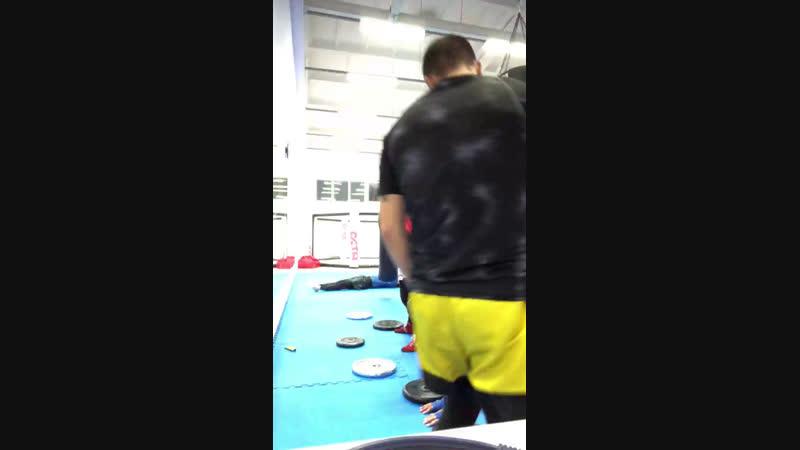 Тренировка кроссфит в Муай тай