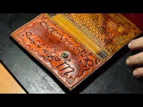 Женский кошелёк. Щедрость безгранична. Эксклюзивные изделия из кожи.