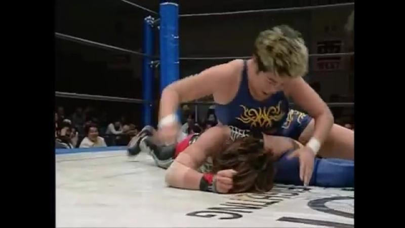 Mariko Yoshida (c) vs Mikiko Futagami (Clipped) (4.14.1999)