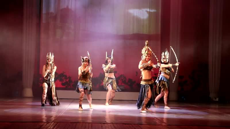 Амазонки.Отчетный концерт Жемчужина Нила