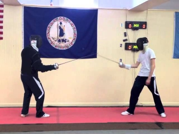 Epee Lesson - Part 2