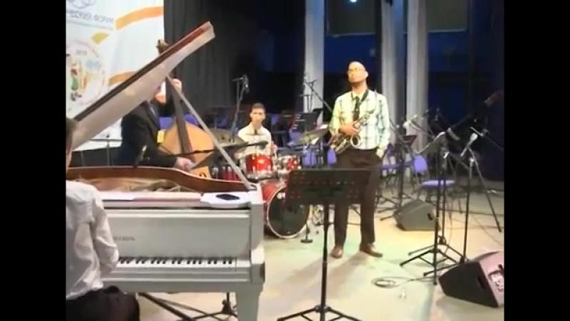 Ансамбль музыкального колледжа BERKLEE Бостон США выступил в Новосибирске