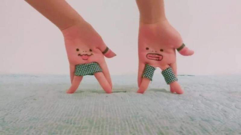손가락춤) 블랙핑크 - 뚜두뚜두 _Finger dance) BLACKPINK - DDU-DU DDU-DU