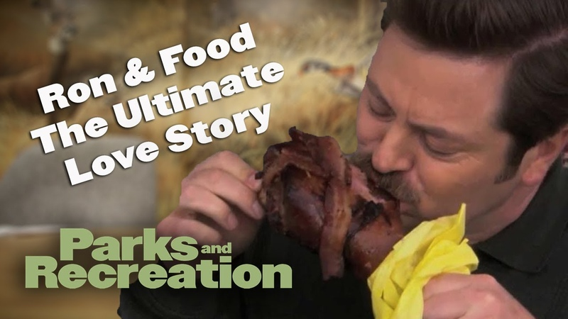 Ron Food The Ultimate Love Story - Parks and Recreation