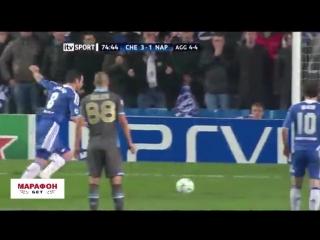 Челси 4:1 Наполи 2012/13 | Полный обзор матча