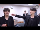 Jungkook can't keep his hands off taehyung