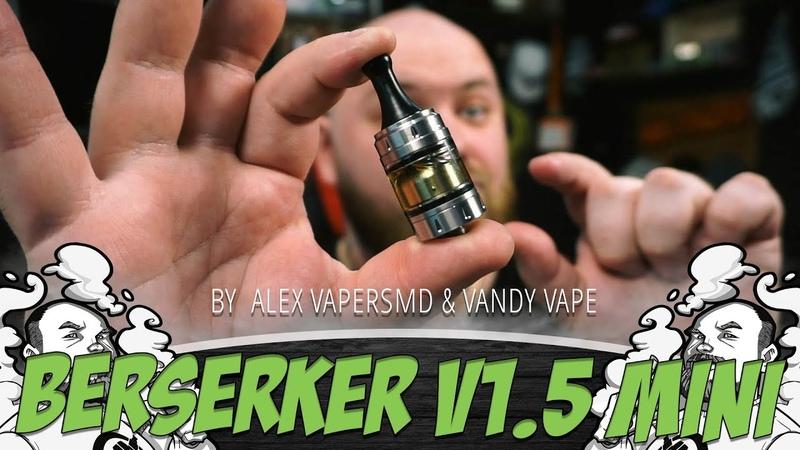 BERSERKER V1.5 MINI MTL RTA | Удобная заправка