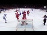 Ковальчук подправляет шайбу