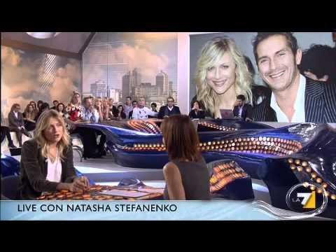 Cristina Parodi Live - Natasha Stefanenko preferisco il pubblico italiano, qui siamo più spontanei