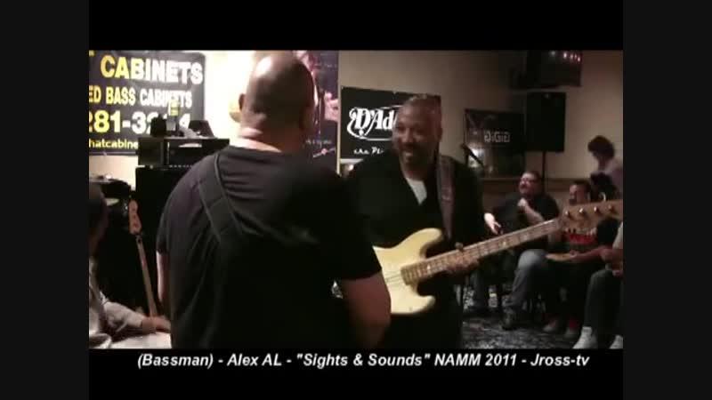 James Ross @ (Bassist) - Alex AL BASS SOLO - www.Jross-tv.com