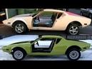 Restoration of a Legend 1971 De Tomaso Pantera Build Slideshow Custom Project Handmade Overhaulin