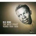 B.B. King альбом Saga Blues: The West Coast Years 1954-1958
