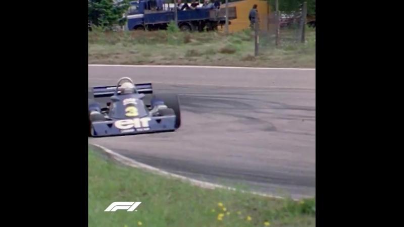 Первая и единственная победа Tyrrell P34!