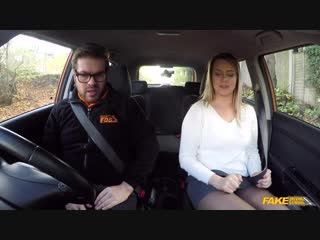 [FakeDrivingSchool] Nikky Dream - Czech babe orgasms after 1st lesson New Porn 2018