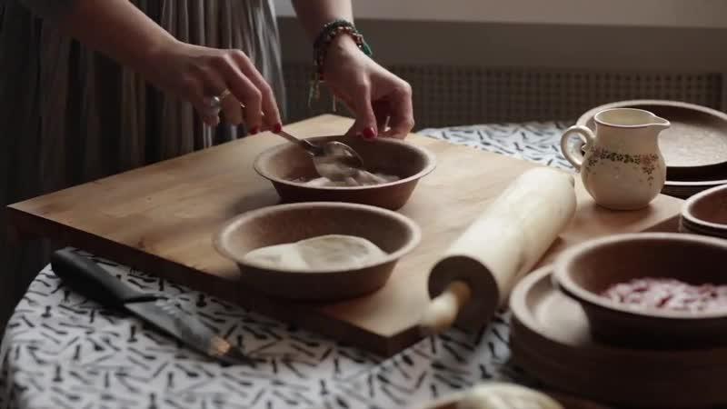 Посуда из пшеничных отрубей
