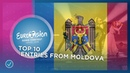 TOP 10 Entries from Moldova 🇲🇩 Eurovision Song Contest