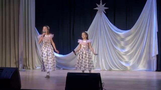 Елизавета Лернер и Варвара Водолазко -Звезда Рождества III Международный конкурс «NEW STAR»