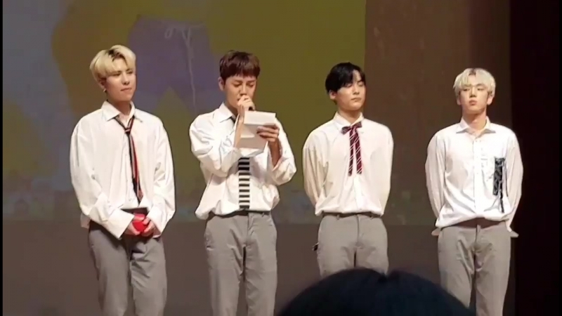 FANCAM | 19.08.18 | A.C.E (Letter From A.C.E) @ 16th fansign CTS Art Hall