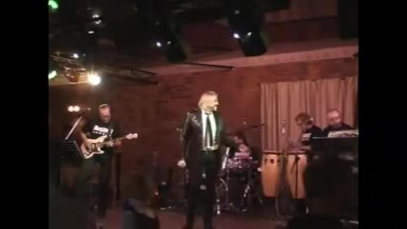 Anatoly Aleshin, Valery Lunichkin lead guitar Nostal.G - BURN - Live in Kama club, Perm, Russia