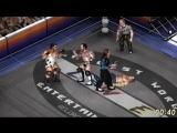 Jeff Hardy &amp Jeff Cobb VS CM Punk &amp John Cena. Tornado Tag Team Match