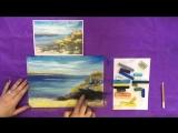 Мастер-класс по живописи пастелью. Лето