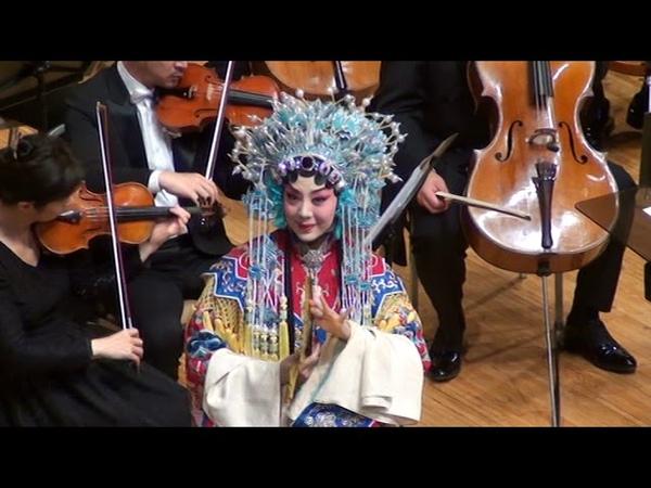 Опьяневшая наложница императора (фрагмент). По мотивам пекинской оперы