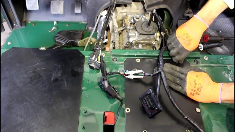 Замена маховика и комплекта сцепления 4часть Land Rover Defender Ленд Ровер Дефендер 2005 года