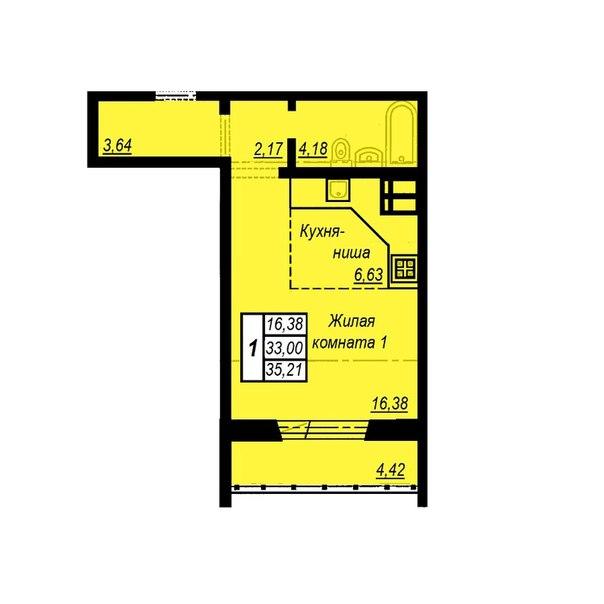 Купить квартиру в Академ Риверсайд