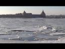 Первый местный лед пошел. 01.04.2018. 7ч.50мин.