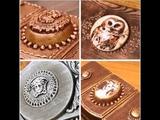 Самодельные молды , медальоны, контур. DIY. Homemade molds, medallions and contour for decoration.