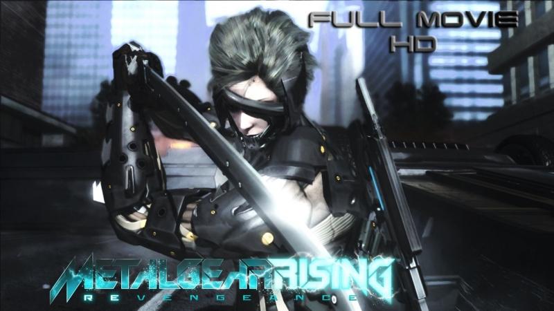 Metal Gear Rising Revengeance - Full Movie HD