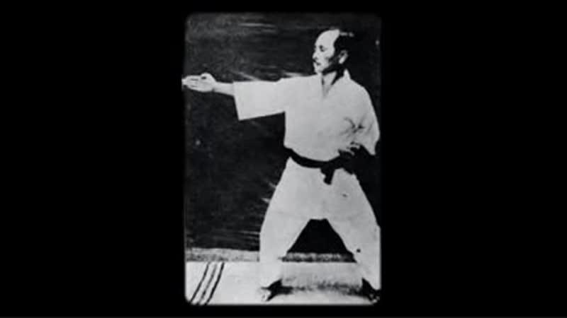 Gichin Funakoshi - Tekki Shodan (1925)