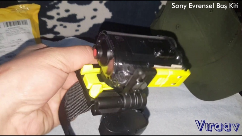 Sony Action Cam head kit (sony aksiyon kamerası baş kiti) ViraAv