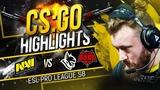 CSGO Highlights NAVI vs Heroic, HellRaisers @ ESL Pro League S8