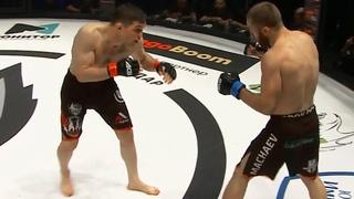Бой Марат Балаев против Мурада Мачаева / Отправил в нокаут в 1 раунде
