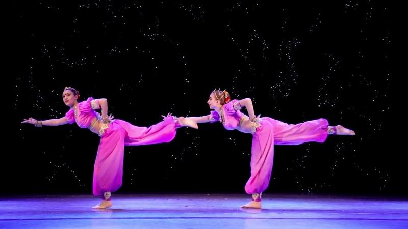 Shape of you Carnatic Mix Tan tanana Amrita dance group Moscow