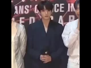 Two minutes of jungkook zoning out.