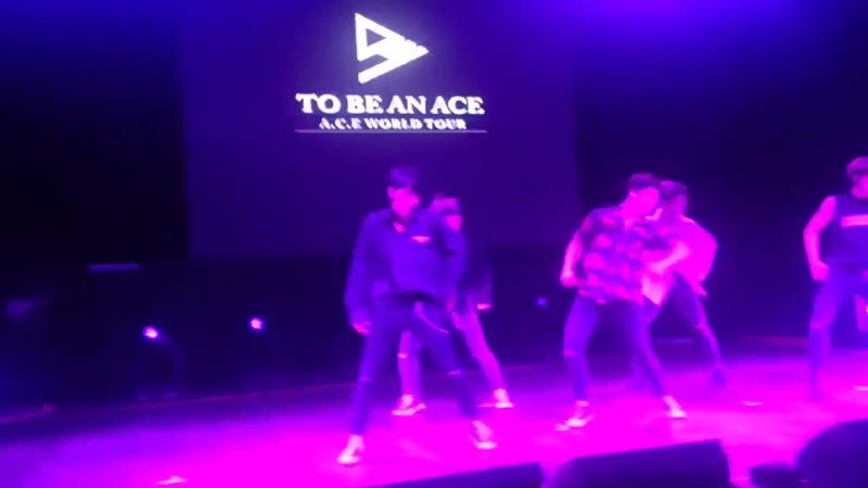 FANCAM | 16.11.18 | A.C.E (I'll Show YouCall The AmbulanceMake It Nasty) @ Fan-con 'To Be An ACE' in Argentina
